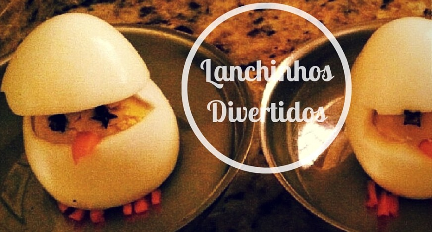 Lanchinhos divertidos