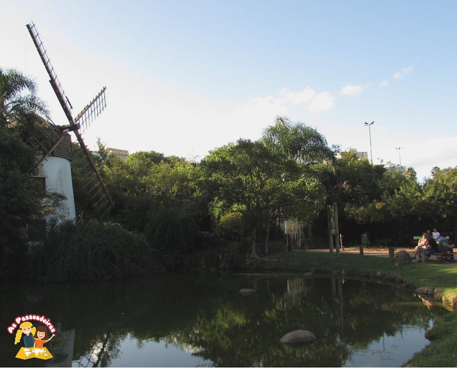 Parque Moinhos de Vento picninc em Porto Alegre