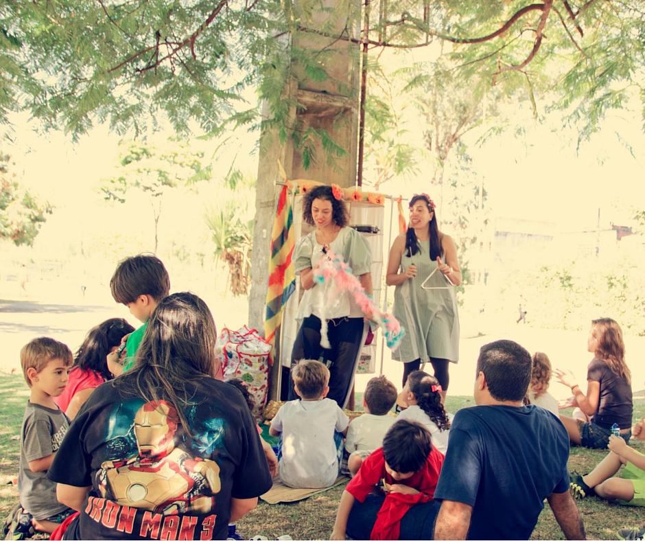 Aniversário Picnic no parque Dom José
