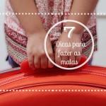 7 Dicas para arrumar a mala das crianças