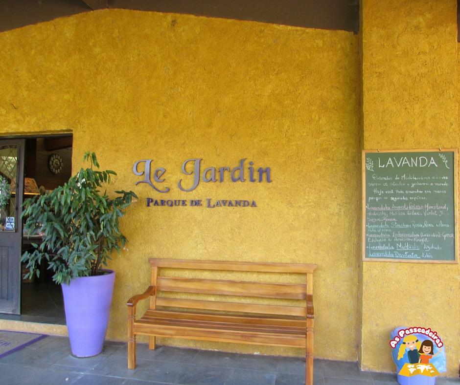 A Sede do Le Jardin Parque de Lavandas