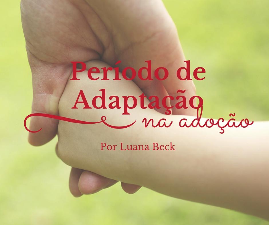 adaptação na adoção