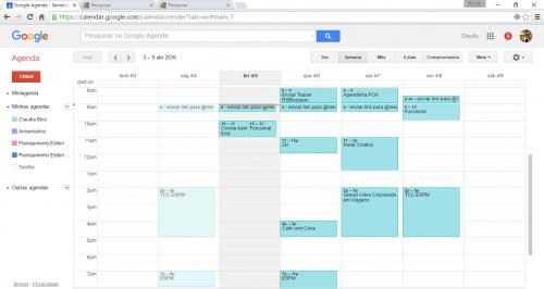 Como organizar o seu dia-a-dia