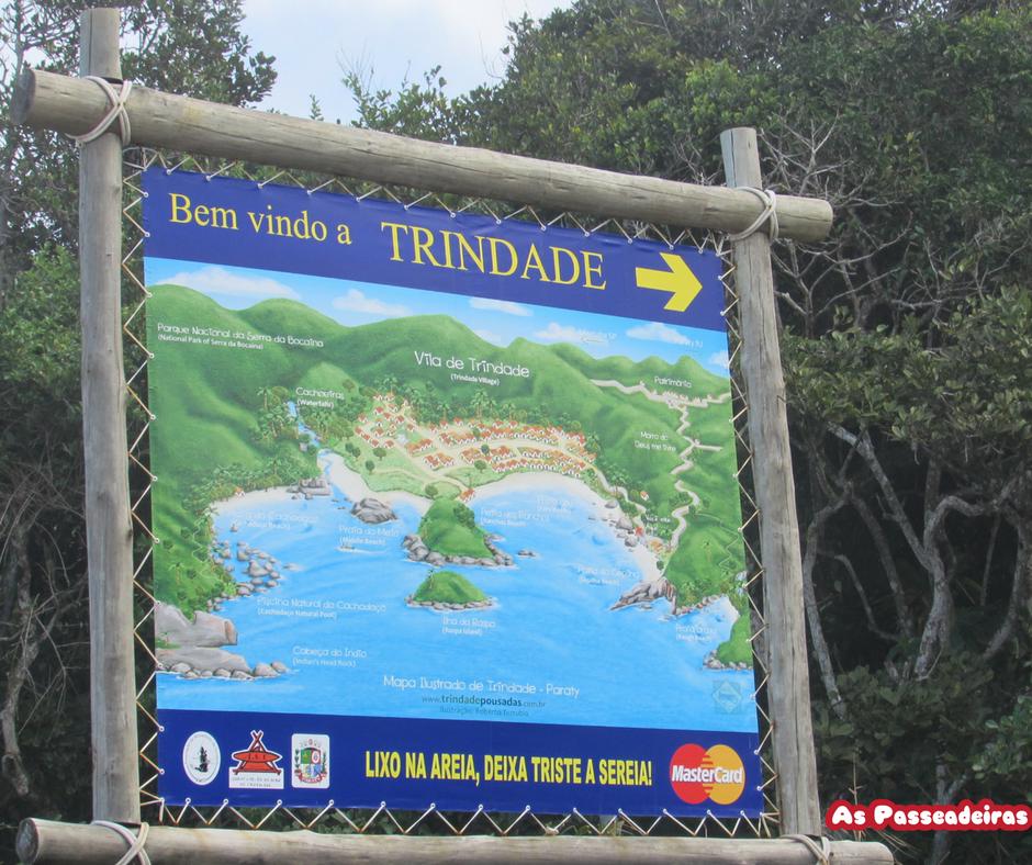 Paraty Mirim e Vila da Trindade