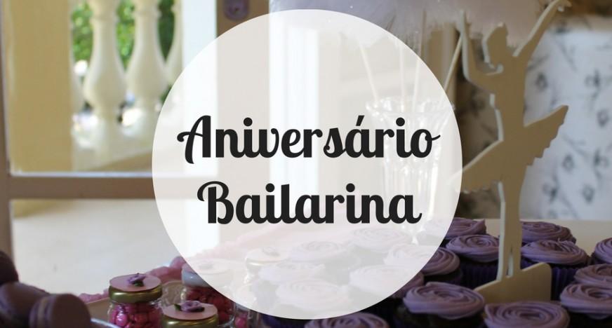 Aniversário Bailarina