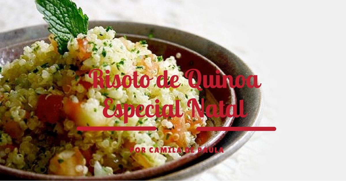 risoto de quinoa especial