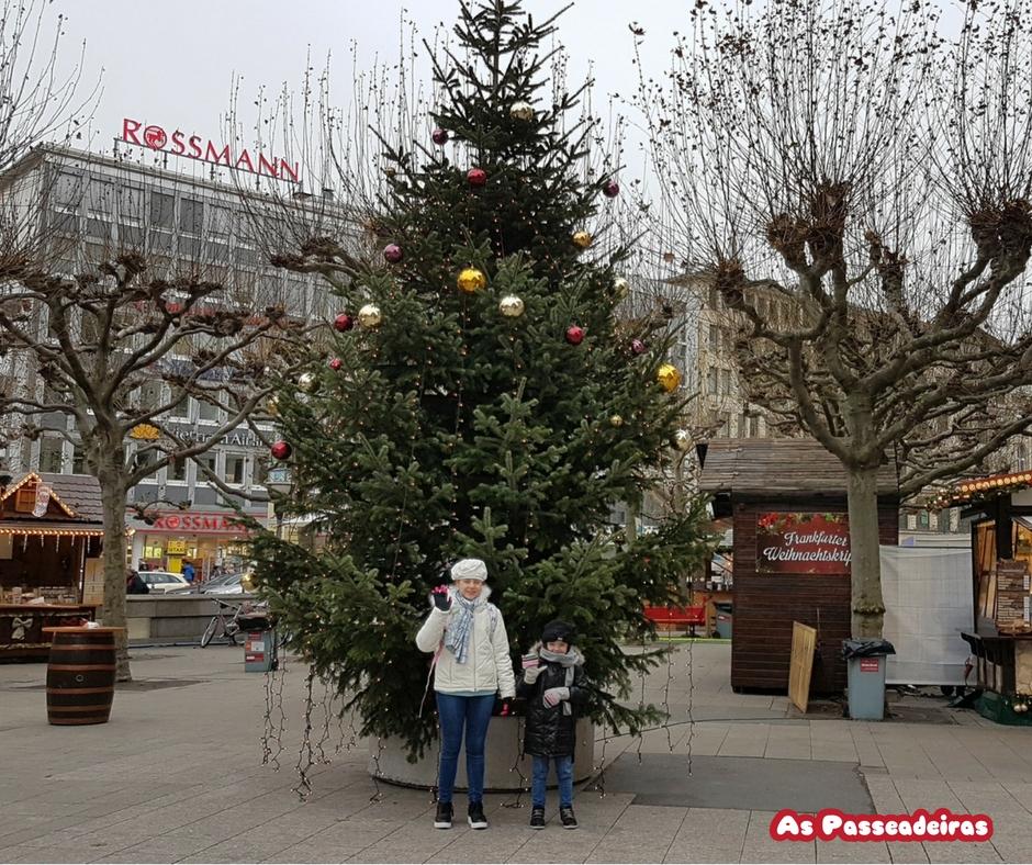 Mercados de natal em frankfurt