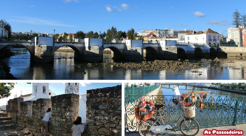 Tavira e a Ponte Romana e o Castelo