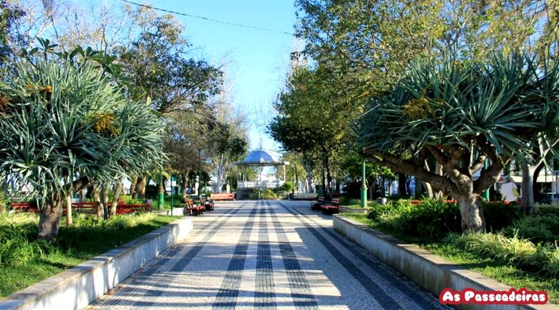 O Jardim do Coreto, o mais antigo de Tavira