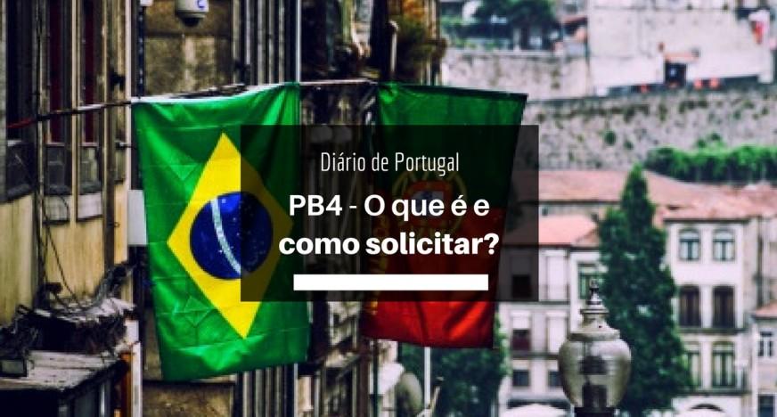 como solicitar o pb4