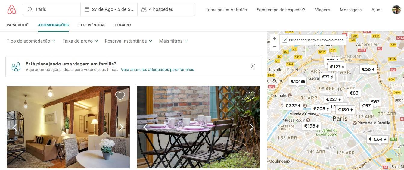como alugar apartamento pelo airbnb