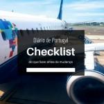 Morar em Portugal: Check list antes da mudança
