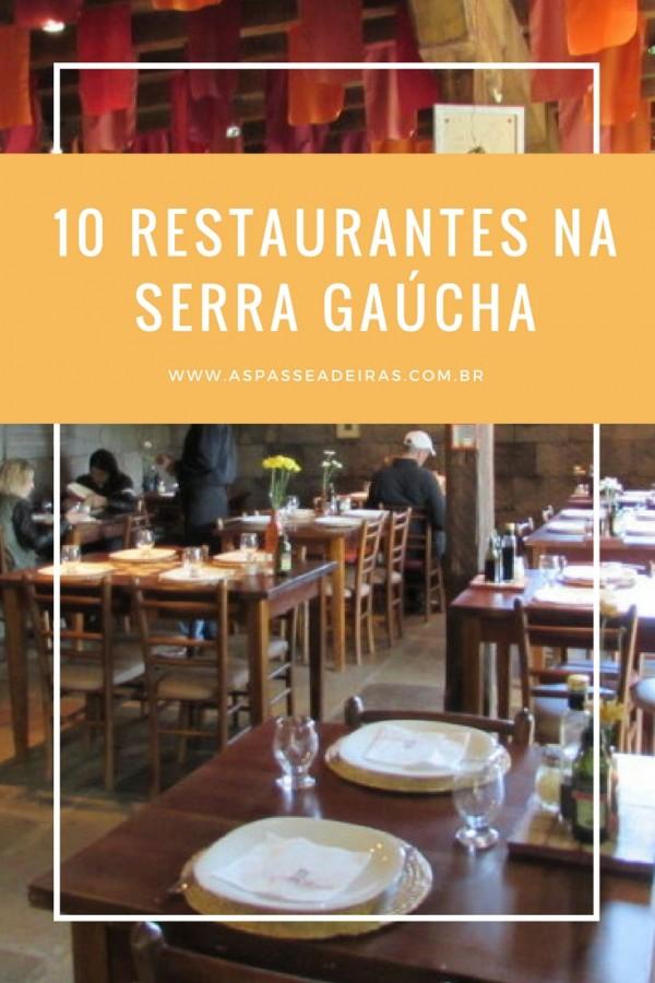 restaurantes serra gaucha