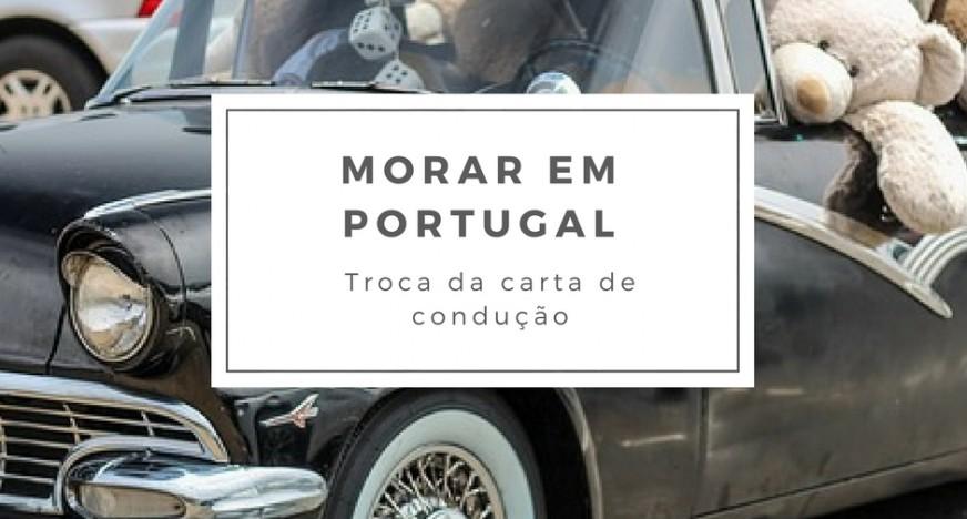 troca da carta de condução em portugal