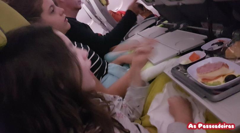 voo tap com crianças