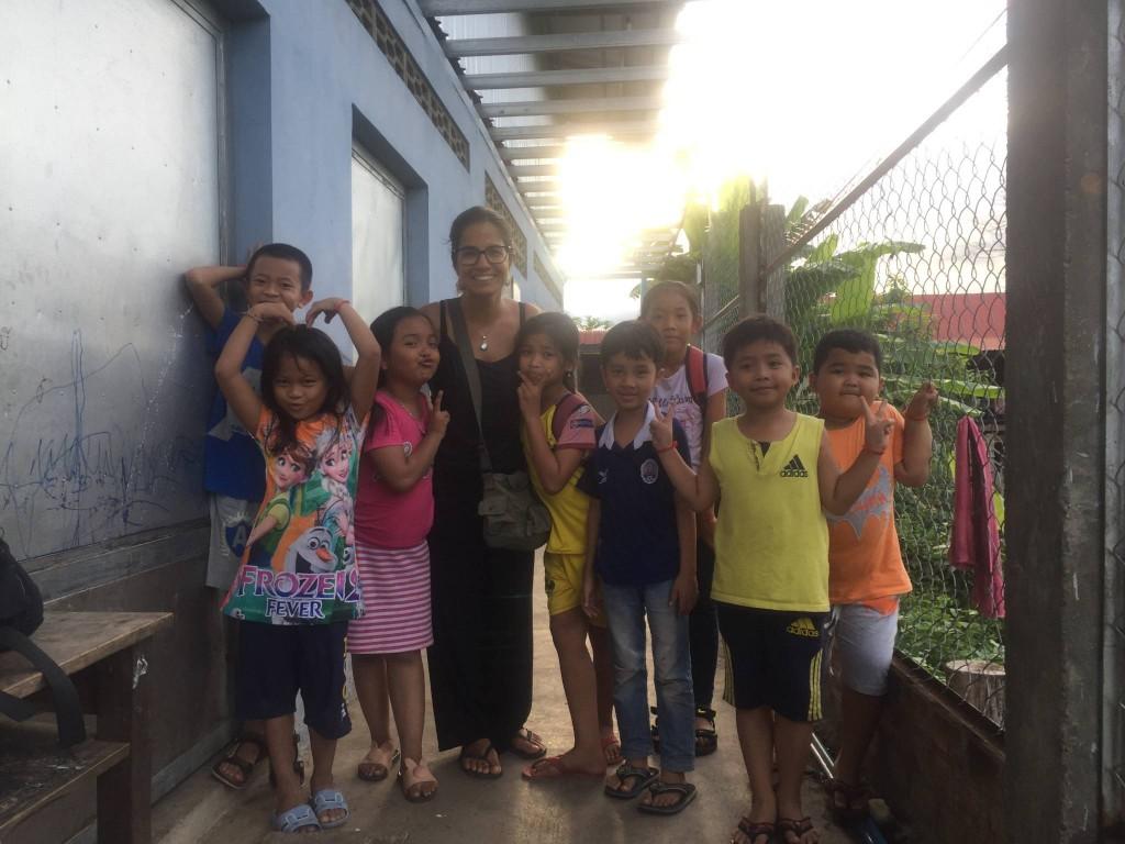 Camboja - Meus alunos, galerinha do barulho