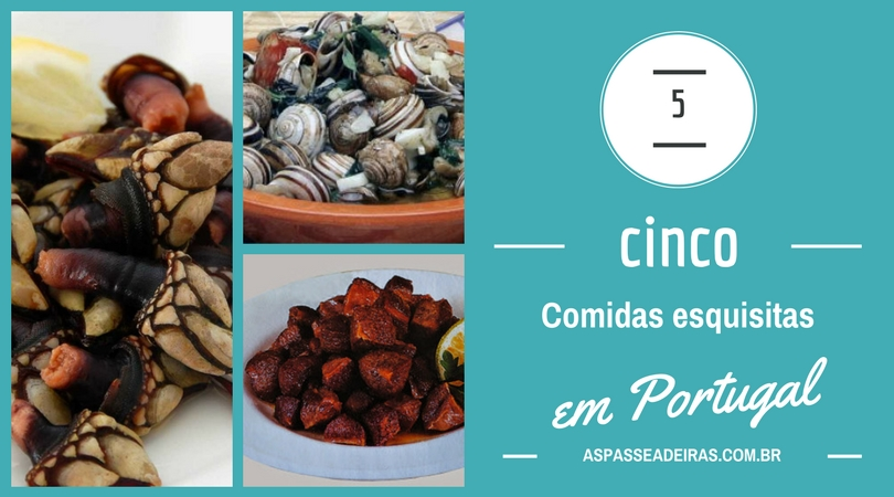 comidas esquisitas em portugal