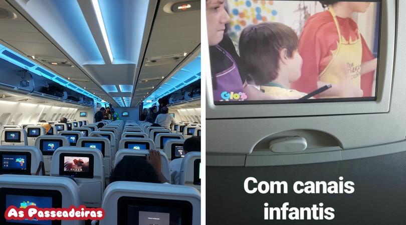 como é o voo azul para portugal