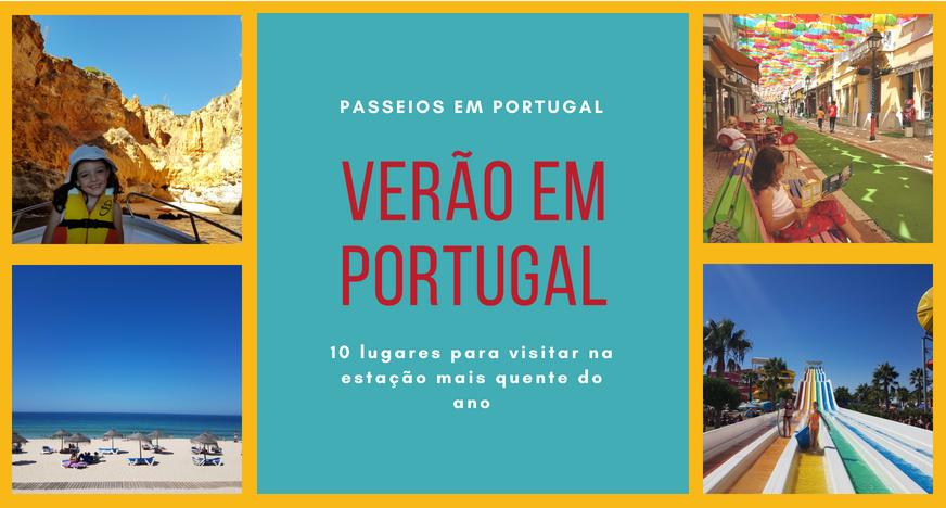 lugares para visitar no verão em portugal