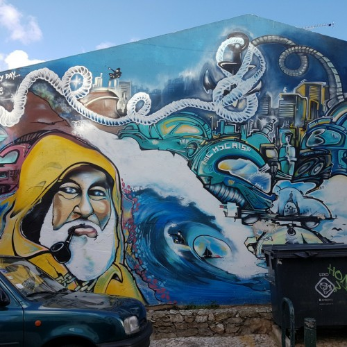 roteiro streetart cascais