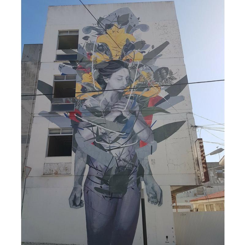 Roteiro street art cascais