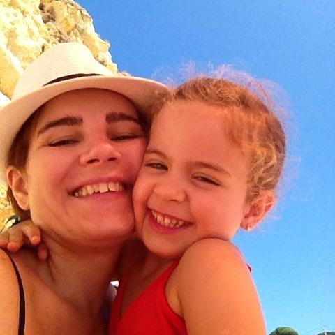 Mariana Panaro e sua lfilhota linda - Foto:@mapanaro