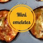 Mini omeletes fáceis de fazer