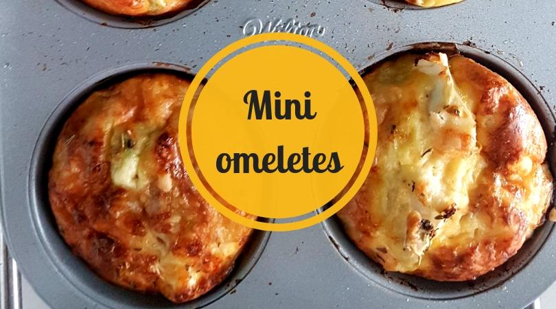 Mini omeletes