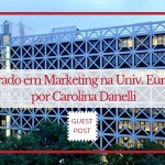 Mestrado em Marketing Universidade Europeia