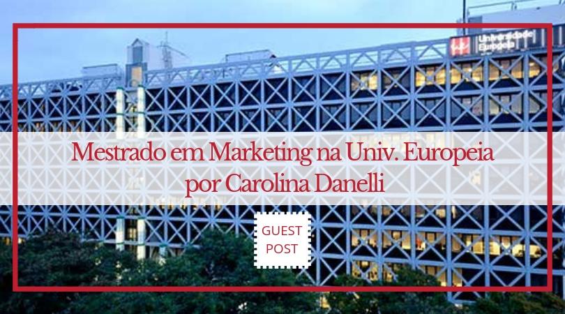 mestrado em marketing universidade europeia