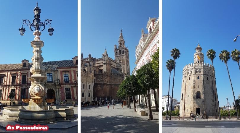 3 dias em Sevilha