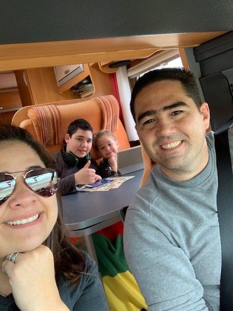 Viagem de Autocaravana