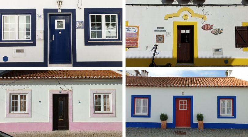 arquitetura de vila nova de milfontes