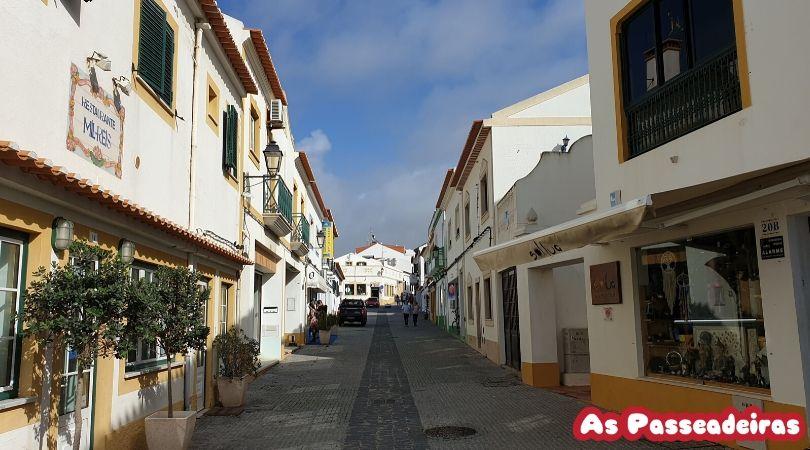 Centro histórico de Vila nova de milfontes