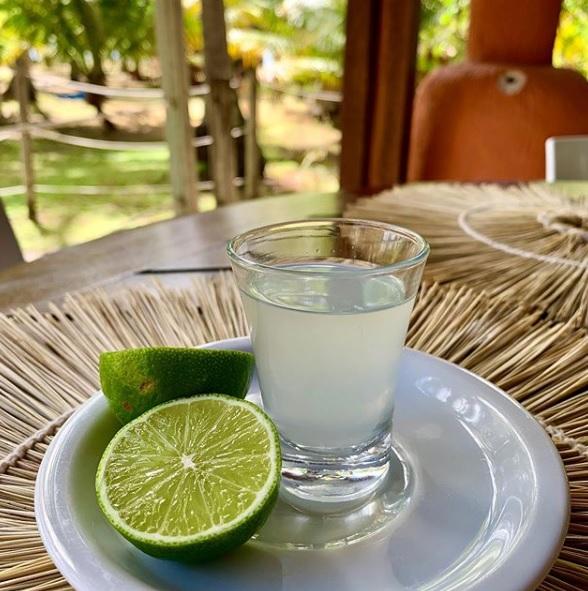 shot de limão