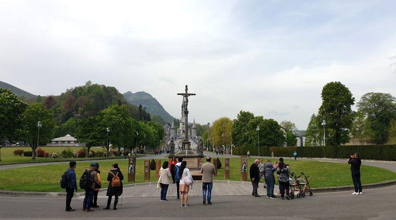 pit stop em Lourdes